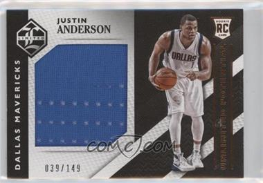 2015-16 Panini Limited - Unlimited Potential Materials #4 - Justin Anderson /149