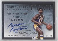 Norm Nixon /49