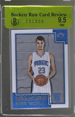 2015-16 Panini NBA Hoops - [Base] #285 - Rookies - Mario Hezonja [BRCR9.5]
