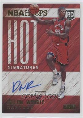 2015-16 Panini NBA Hoops - Hot Signatures #HS-DW - Delon Wright
