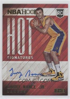 2015-16 Panini NBA Hoops - Hot Signatures #HS-LN - Larry Nance Jr.