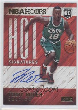 2015-16 Panini NBA Hoops - Hot Signatures #HS-TR - Terry Rozier