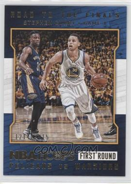 2015-16 Panini NBA Hoops - Road to the Finals #2 - First Round - Stephen Curry /2015