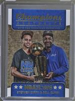 Champions Trophy Portraits - Dell Curry, Stephen Curry /99