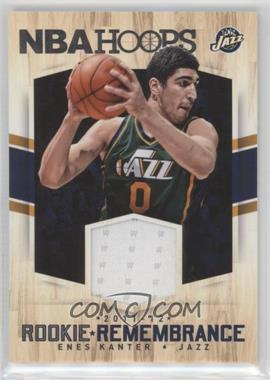2015-16 Panini NBA Hoops - Rookie Remembrance #RR-EK - Enes Kanter