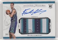 Rookie Patch Autographs - Frank Kaminsky #/25