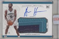 Rookie Patch Autographs - Aaron Harrison [Uncirculated] #/25