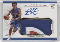 Rookie Patch Autographs - Stanley Johnson /99