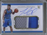 Rookie Patch Autographs - Justin Anderson #/99