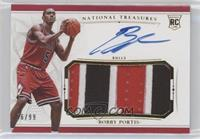 Rookie Patch Autographs - Bobby Portis #/99