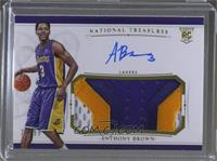 Rookie Patch Autographs - Anthony Brown #/99