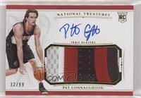 Rookie Patch Autographs - Pat Connaughton #/99