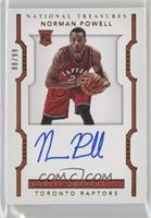 Rookie Autographs - Norman Powell /99