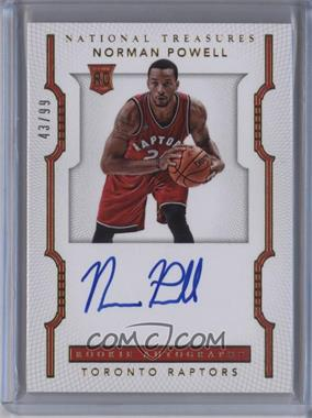 2015-16 Panini National Treasures - [Base] #153 - Rookie Autographs - Norman Powell /99