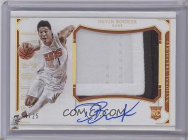 2015-16 Panini National Treasures - Colossal Jersey Autographs - Prime #CJ-DBK - Devin Booker /25 [Near Mint‑Mint]
