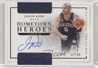 Jason Kidd #/49