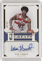 Wes Unseld #/99