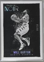 Platinum Black and White - Will Barton [Noted] #/10