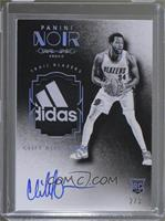Auto Tags Black and White Rookies - Cliff Alexander #/3
