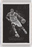 Black and White - LeBron James #/99