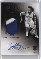 Auto Patch Black and White Rookies - Stanley Johnson /99