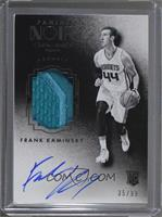 Auto Patch Black and White Rookies - Frank Kaminsky [Noted] #/99