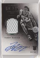 Auto Patch Black and White Rookies - Terry Rozier /99