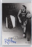 Auto Patch Black and White Rookies - Rondae Hollis-Jefferson #/99