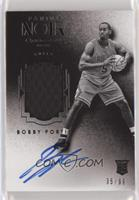 Auto Patch Black and White Rookies - Bobby Portis #/99