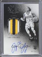 Auto Patch Black and White Rookies - Joe Young /99