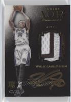 Auto Patch Color Rookies - Willie Cauley-Stein /99