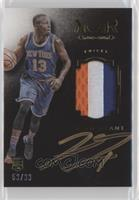 Auto Patch Color Rookies - Jerian Grant #/99