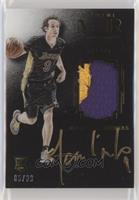 Auto Patch Color Rookies - Marcelo Huertas [EX to NM] #/99