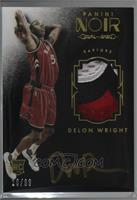 Auto Patch Color Rookies - Delon Wright [Noted] #/99
