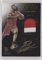 Auto Patch Color Rookies - Bobby Portis [Noted] #/99