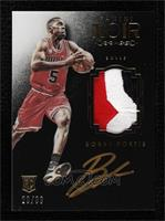 Auto Patch Color Rookies - Bobby Portis #/99