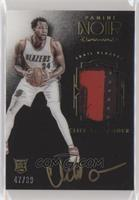 Auto Patch Color Rookies - Cliff Alexander [Noted] #/99