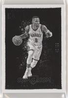 Black and White - Russell Westbrook #/99