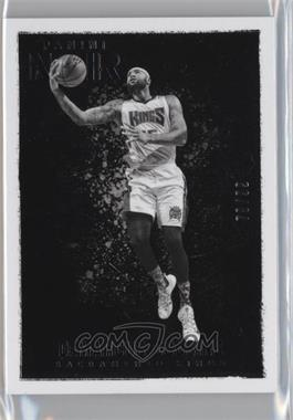 2015-16 Panini Noir - [Base] #62 - Black and White - DeMarcus Cousins /99