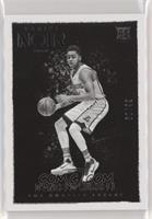 Black and White Rookies - D'Angelo Russell [Noted] #/99