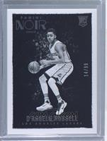 Black and White Rookies - D'Angelo Russell #/99