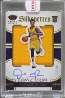 Rookie Silhouettes - D'Angelo Russell /99 [Uncirculated]
