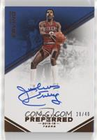 Autographs - Julius Erving #28/40