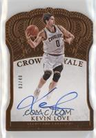 Crown Royale - Kevin Love #/40