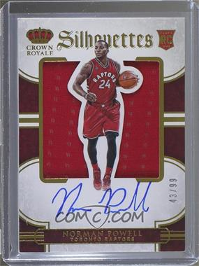 2015-16 Panini Preferred - [Base] #22 - Rookie Silhouettes - Norman Powell /99