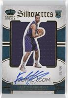 Rookie Silhouettes - Frank Kaminsky [Noted] #/99