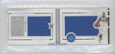 2015-16 Panini Preferred - Playbook Rookie Jumbo Booklets #PRJ-JAN - Justin Anderson /199