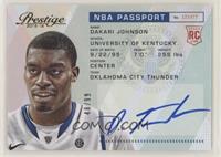 Dakari Johnson #/99