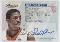 Delon Wright #/99