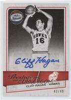 Cliff Hagan #/49